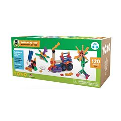 PBS KIDS Build It Kit 120 pc Open-Ended Construction System by YOXO