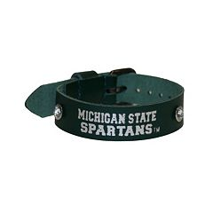 Women's Michigan State Spartans Foil Print Bracelet
