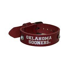 Women's Oklahoma Sooners Foil Print Bracelet