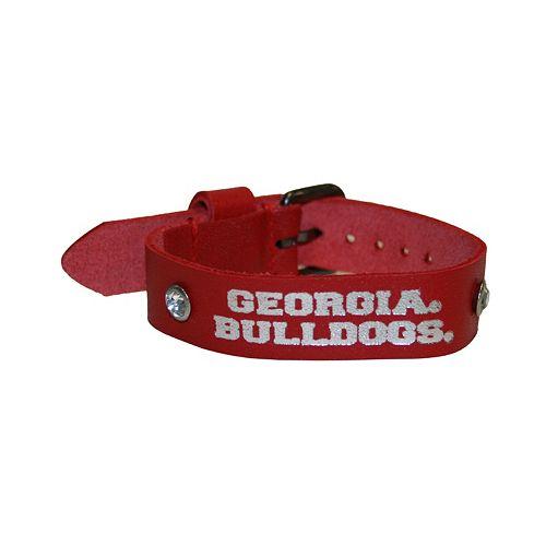 Women's Georgia Bulldogs Foil Print Bracelet