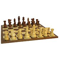 WorldWise Imports 3.5 in Sheesham French Chess Set