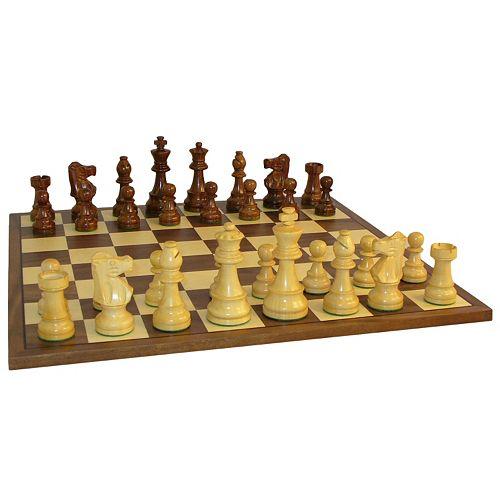 WorldWise Imports 3.5-in. Sheesham French Chess Set