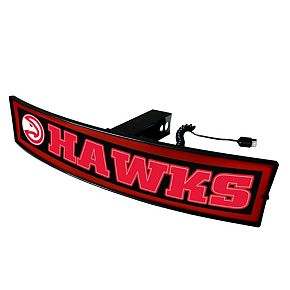 FANMATS Atlanta Hawks Light Up Trailer Hitch Cover