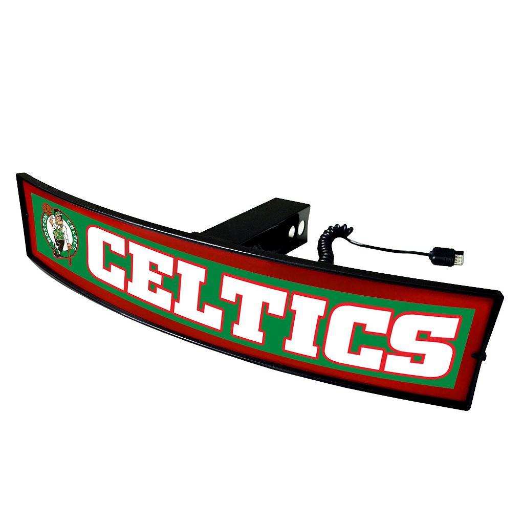 FANMATS Boston Celtics Light Up Trailer Hitch Cover