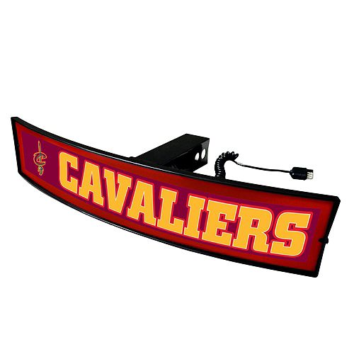 FANMATS Cleveland Cavaliers Light Up Trailer Hitch Cover