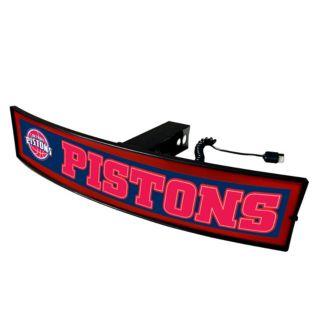 FANMATS Detroit Pistons Light Up Trailer Hitch Cover