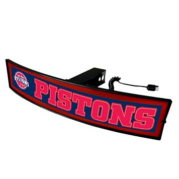 FANMATS Detroit Pistons Light Up Trailer Hitch Cover