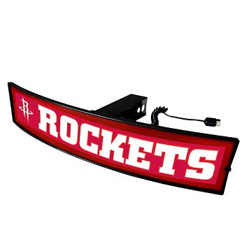 FANMATS Houston Rockets Light Up Trailer Hitch Cover