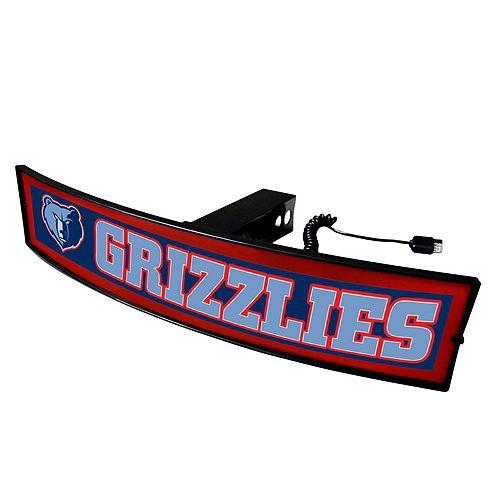 FANMATS Memphis Grizzlies Light Up Trailer Hitch Cover