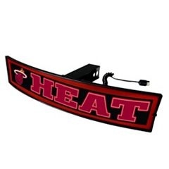 FANMATS Miami Heat Light Up Trailer Hitch Cover
