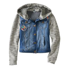 Hooded Denim Jackets Coats & Jackets - Outerwear, Clothing | Kohl's