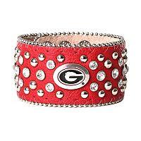 Women's Georgia Bulldogs Glitz Cuff Bracelet