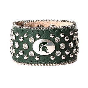 Women's Michigan State Spartans Glitz Cuff Bracelet