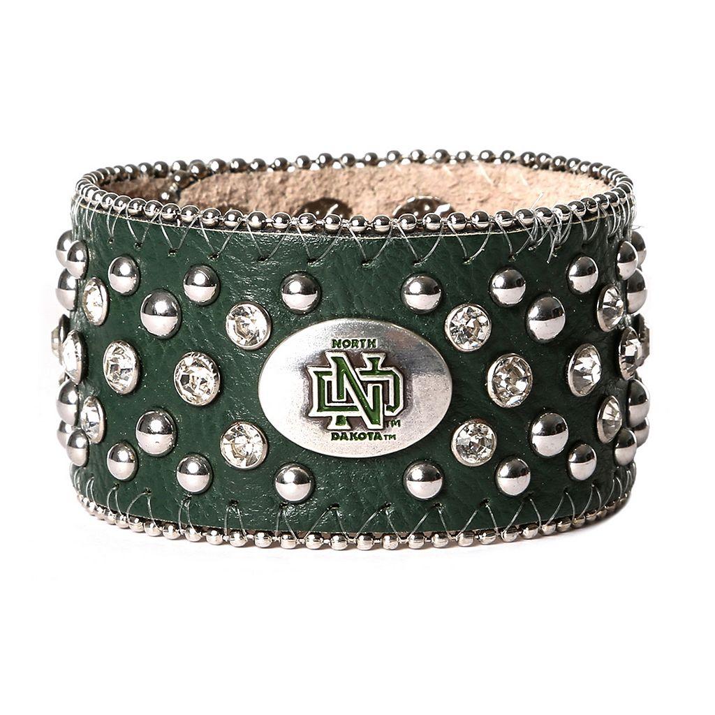 Women's North Dakota Fighting Hawks Glitz Cuff Bracelet