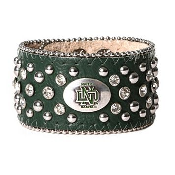 Women's North Dakota Fighting Hawks Glitz Cuff Bracelet