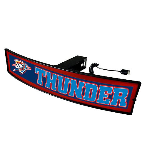 FANMATS Oklahoma City Thunder Light Up Trailer Hitch Cover