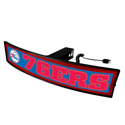 FANMATS Philadelphia 76ers Light Up Trailer Hitch Cover
