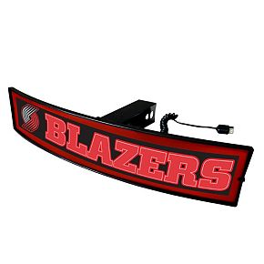 FANMATS Portland Trail Blazers Light Up Trailer Hitch Cover