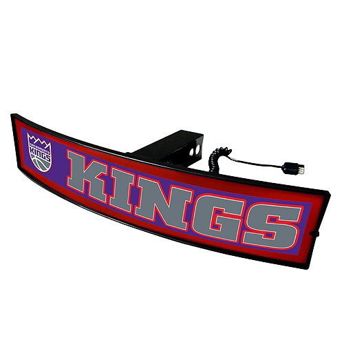 FANMATS Sacramento Kings Light Up Trailer Hitch Cover