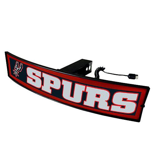 FANMATS San Antonio Spurs Light Up Trailer Hitch Cover
