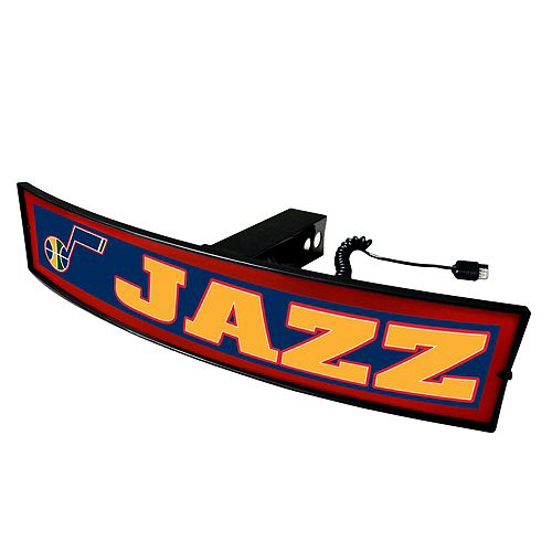 FANMATS Utah Jazz Light Up Trailer Hitch Cover