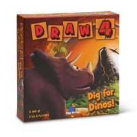 Draw 4: Dig for Dinos! Game by Blue Orange Games
