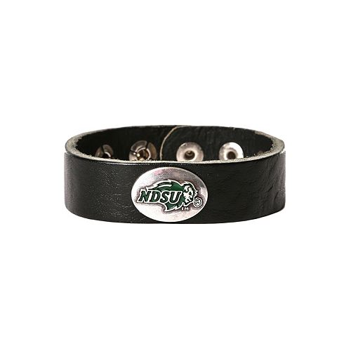 Women's North Dakota State Bison Leather Concho Bracelet