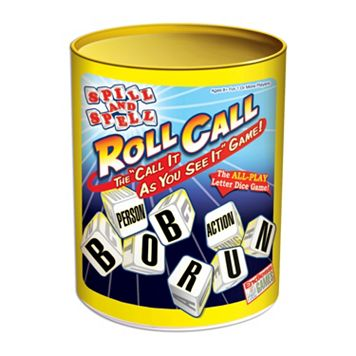 Spill & Spell Roll Call Game by Endless Games