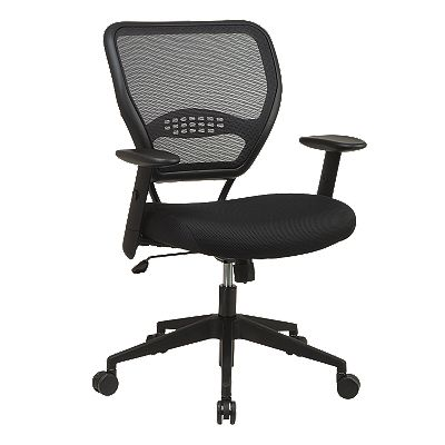 Office Star Products Air Grid Back and Mesh Seat Manager's Chair