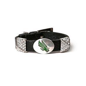 Women's North Texas Mean Green Pyramid Bracelet