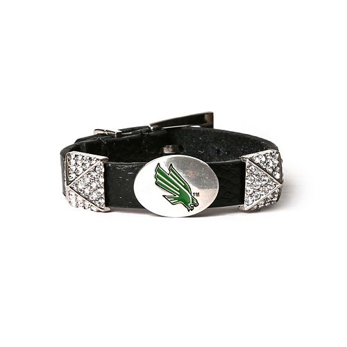 Women's North Texas Mean Green Pyramid Bracelet