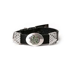 Women's North Dakota Fighting Hawks Pyramid Bracelet