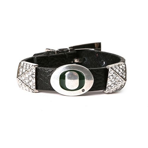 Women's Oregon Ducks Pyramid Bracelet