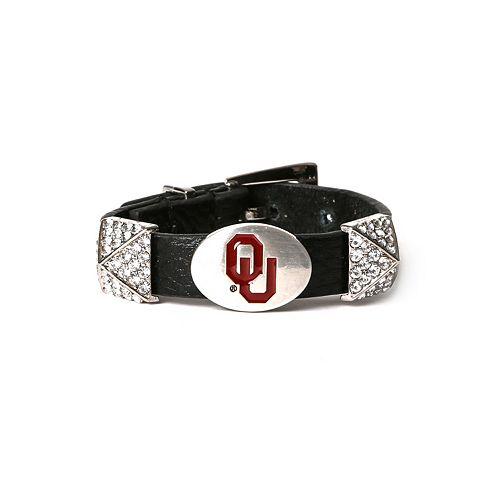 Women's Oklahoma Sooners Pyramid Bracelet