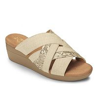 A2 by Aerosoles Flower Power Women's Wedge Sandals