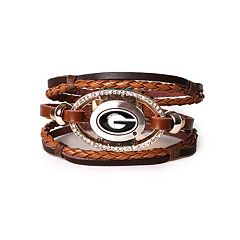 Women's Georgia Bulldogs Bracelet Set
