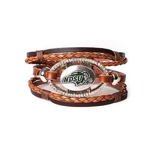 Women's North Dakota State Bison Bracelet Set