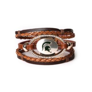 Women's Michigan State Spartans Bracelet Set