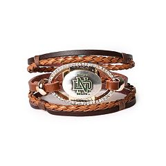 Women's North Dakota Fighting Hawks Bracelet Set