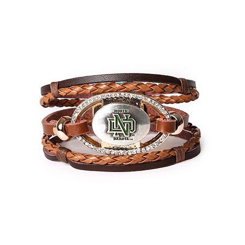 Women's North Dakota Fighting Hawks Bracelet Set