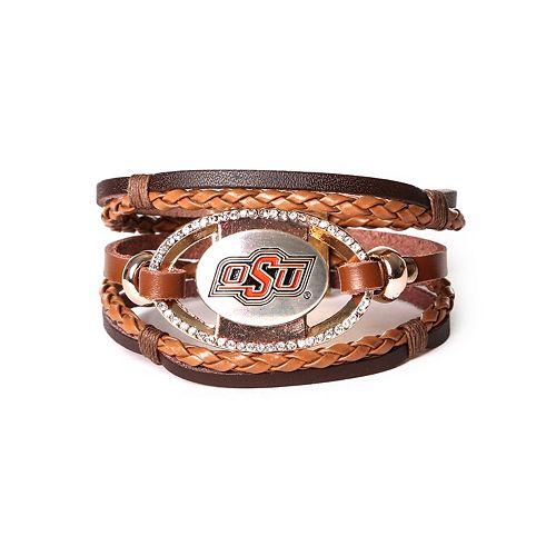 Women's Oklahoma State Cowboys Bracelet Set