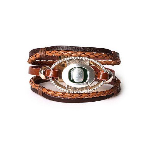 Women's Oregon Ducks Bracelet Set