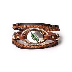 Women's North Texas Mean Green Bracelet Set
