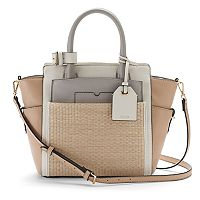 REED Atlantique Colorblock Medium Satchel with Pouch