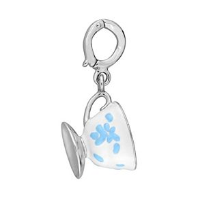 Laura Ashley Lifestyles Jubilee Collection Sterling Silver Teacup Charm