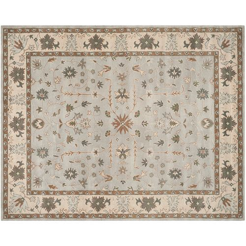 Safavieh Heritage Longford Framed Floral Wool Rug