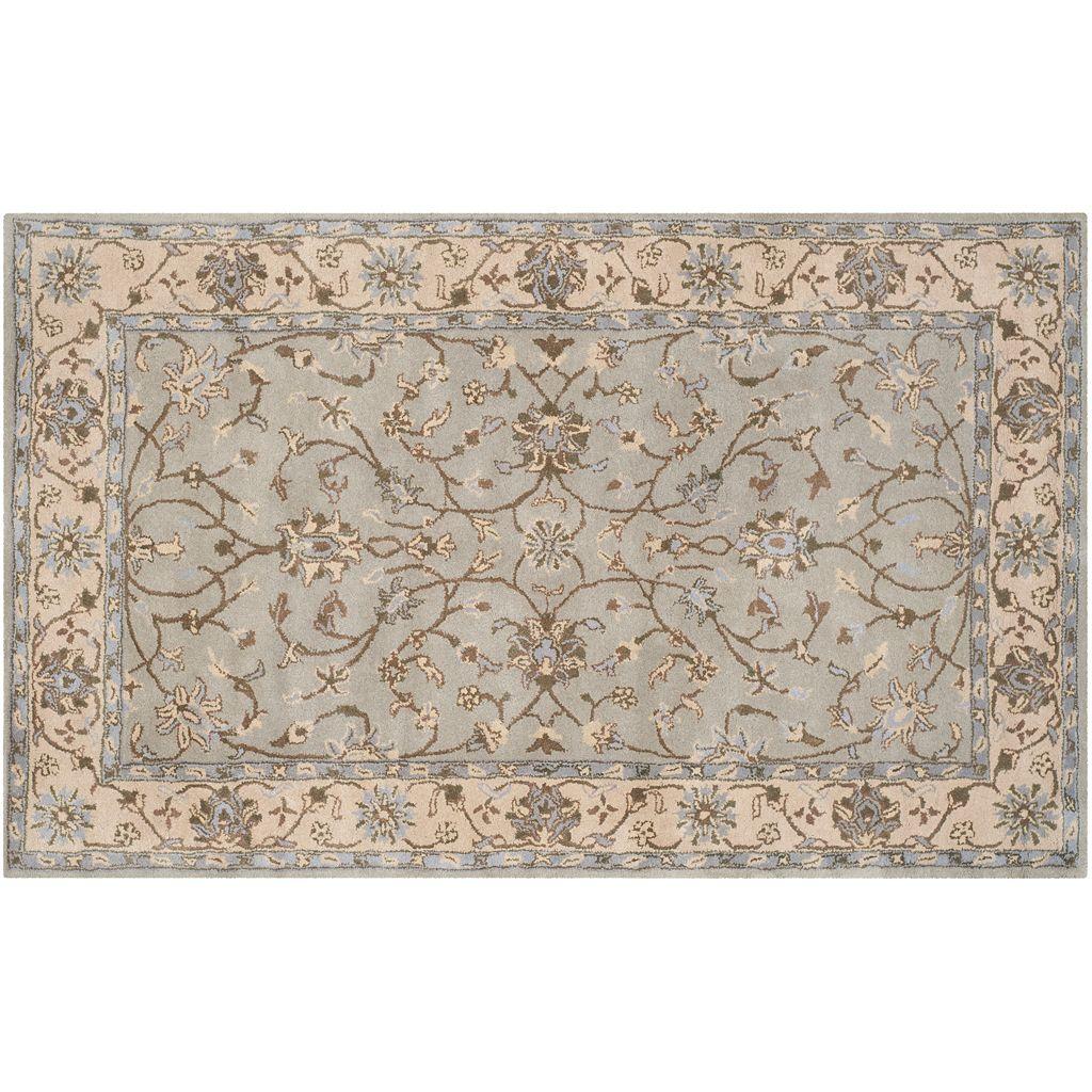 Safavieh Heritage Wexford Framed Floral Wool Rug