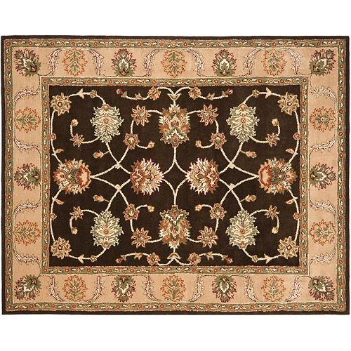 Safavieh Heritage Malmo Framed Floral Wool Rug - 7'6'' x 9'6''