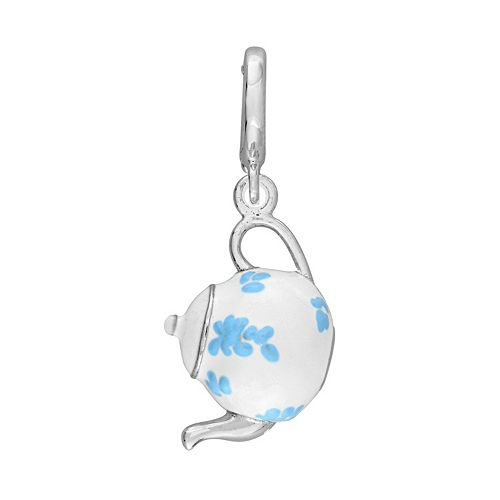 Laura Ashley Jubilee Collection Sterling Silver Teapot Charm