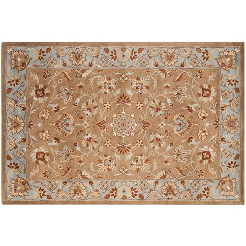 Safavieh Heritage Valletta Framed Floral Wool Rug